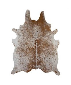Brown Salt & Pepper Cowhide Rug