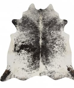 Salt & Pepper Real Cowhide Rug