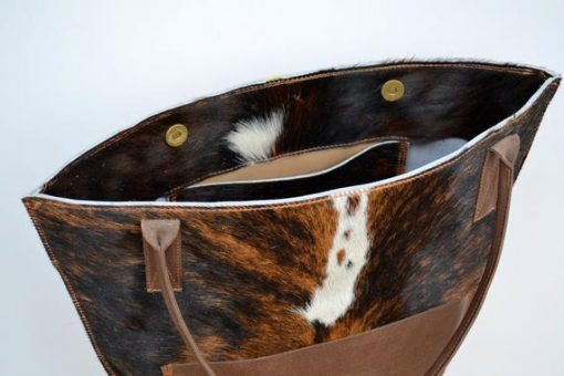 Real Cowhide Hand Bag For Women