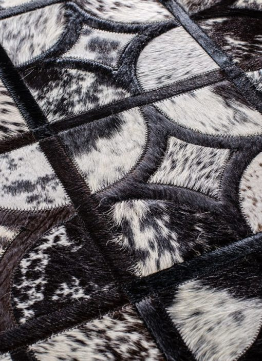 Real Cowhide Patchwork