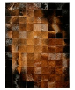 Brown Piece Patchwork Rug