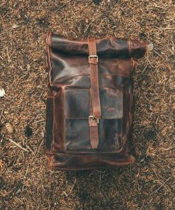 Trip Leather Backpack