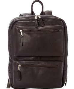 Laptop and Tablet Leather Backpack